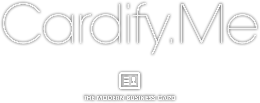 Cardify Me - The Modern Business Card